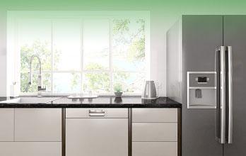Medidas de frigorificos americanos prepara el espacio en - Cocinas con frigorifico americano ...