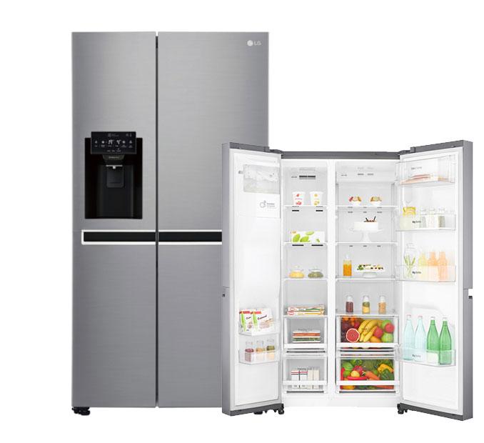 frigorífico americano LG