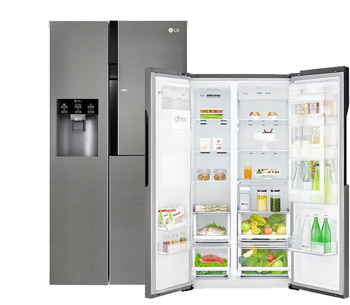 Qu caracter sticas tienen los frigor ficos americanos de - Medidas frigorifico americano ...