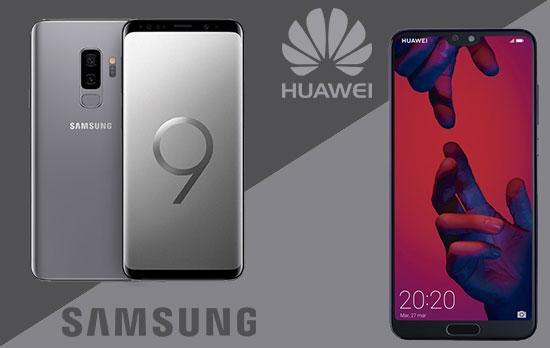 Samsung Galaxy S9 vs Huawei