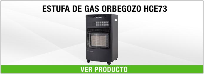 ESTUFA DE GAS ORBEGOZO HCE73