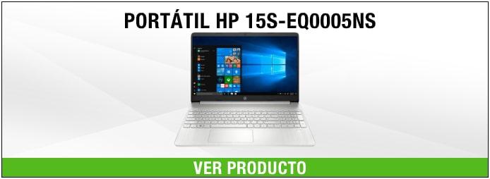 PORTÁTIL HP 15S-EQ0005NS