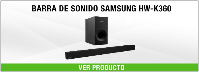 barra de sonido con dolby Samsung
