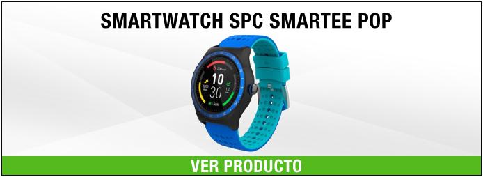 reloj pulsometro spc smartee pop
