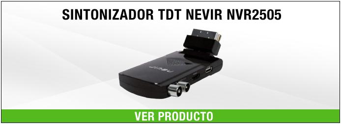 sintonizador TDT USB Nevir