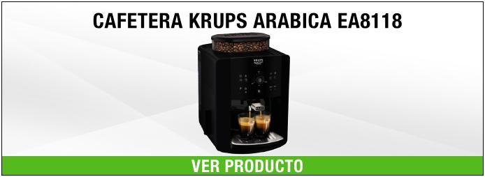 cafetera espresso automática krups