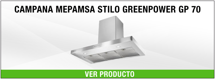 campana extractora mepamsa stilo greenpower