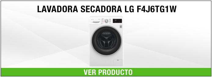 lavadora secadora LG 8kg
