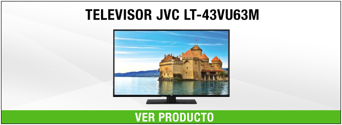 mejores Smart TV JVC lt-43vu63m