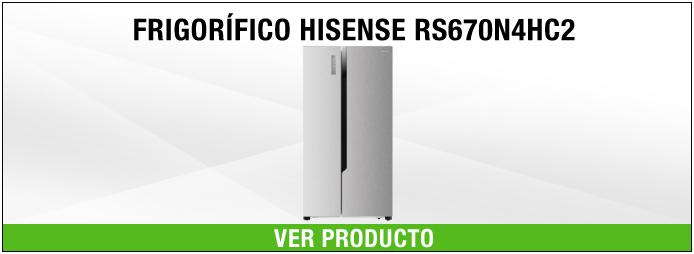 frigorifico Side by Side Hisense