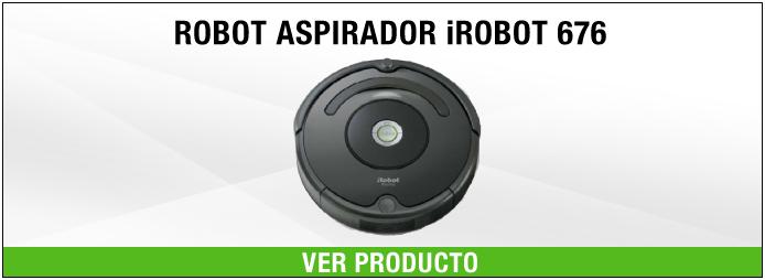 aspirador silencioso iRobot