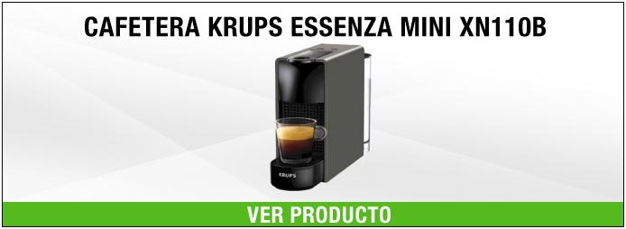 cafetera krups essenza mini xn110b