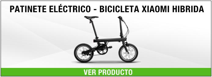 patinete eléctrico bicicleta