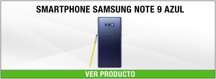 smartphone samsung note 9 AZUL