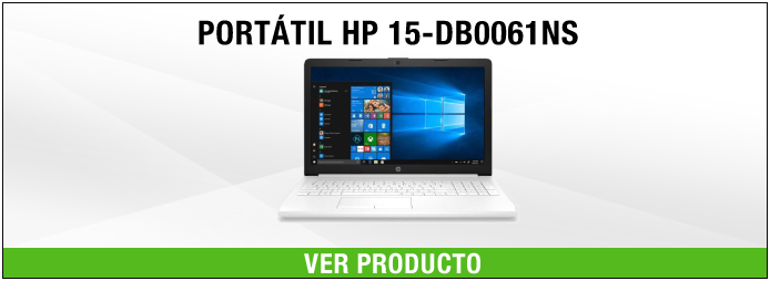 portatil hp blanco