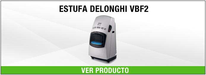 estufa DeLonghi VBF2 Negro, Plata