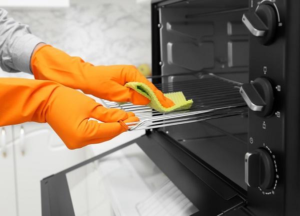 cómo limpiar horno eléctrico