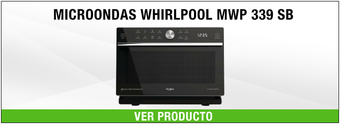 MICROONDAS WHIRLPOOL MWP 339 SB