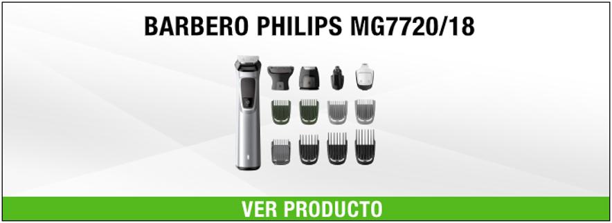 cortapelo Philips MG7720/18 Gris