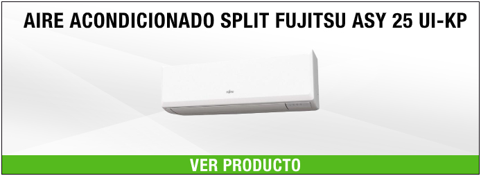 aire acondicionado split fujitsu