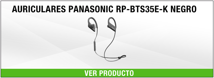 auriculares Panasonic RP-BTS35E-K