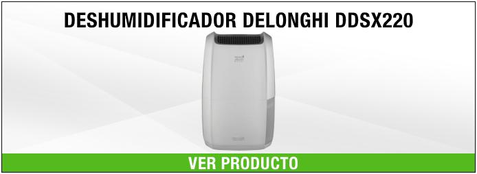 deshumidificador DeLonghi DDSX220