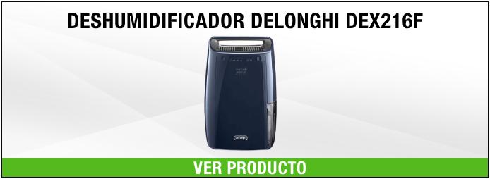deshumidificador DeLonghi DEX216F Azul