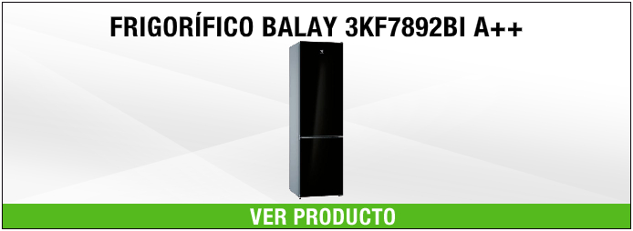 FRIGORIFICO BALAY CRISTAL NEGRO