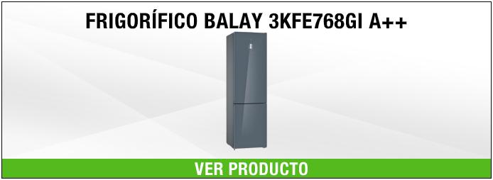 FRIGORIFICO BALAY CRISTAL GRIS