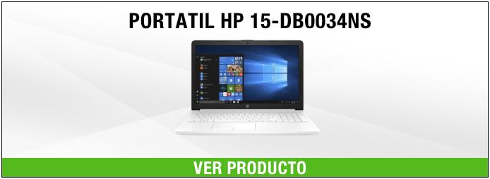 PORTATIL HP 15-DB0034NS