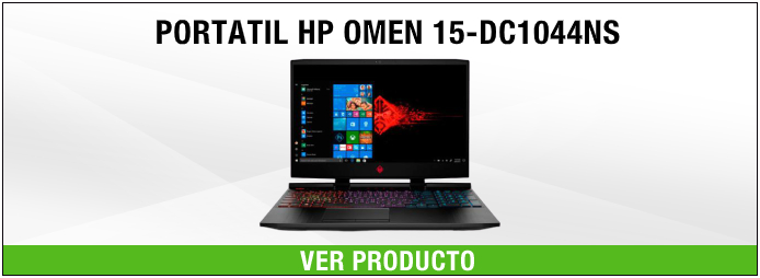 PORTATIL HP OMEN 15-DC1044NS