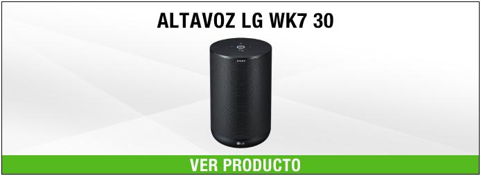 altavoz LG WK7 30