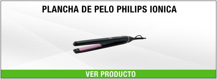 plancha Philips de pelo Ionica con placas Extralargas