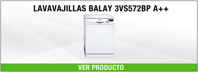 lavavajillas Balay 3VS572BP A++
