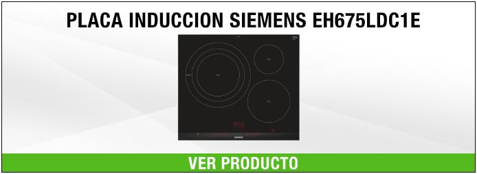 placa de inducción Siemens EH675LDC1E