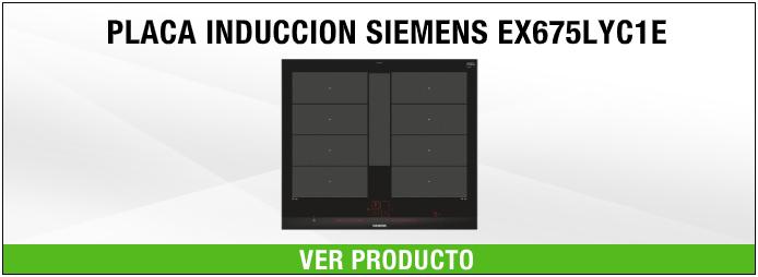 placa de inducción Siemens EX675LYC1E