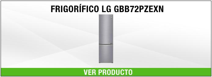 frigorífico LG GBB72PZEXN A+++.