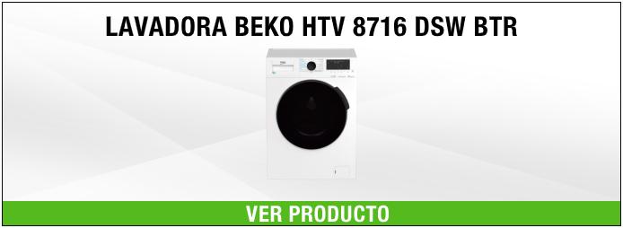 lavadora Beko HTV 8716 DSW BTR A