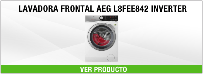 lavadora frontal AEG L8FEE842 INVERTER