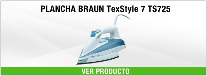 plancha Braun Hogar TS725 Azul