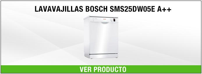 lavavajillas de libre instalación Bosch SMS25DW05E A++
