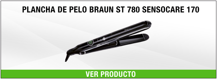 plancha de pelo Braun ST 780 Sensocare 170