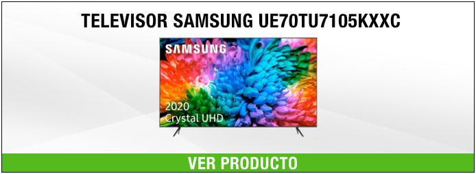 Televisor Samsung UE70TU7105KXXC