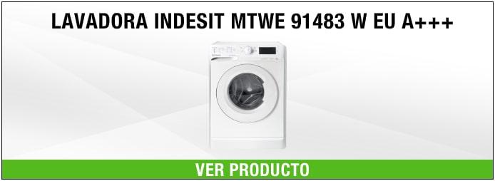 lavadora Indesit MTWE 91483 W EU A+++
