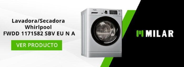 Lavadora/Secadora Whirlpool FWDD 1171582 SBV EU N A