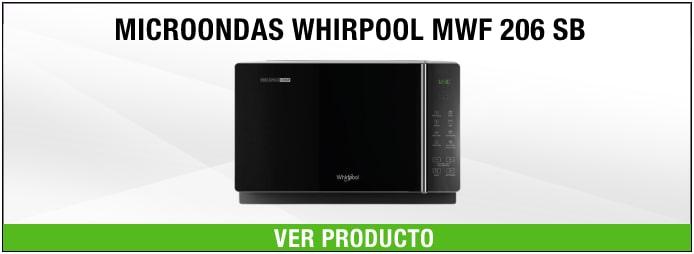 microondas libre instalación Whirlpool Whirlpool MWF 206 SB 800