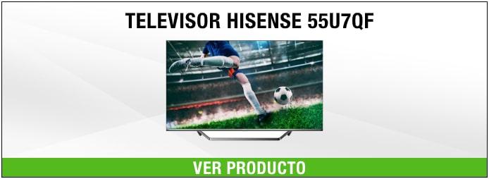 Televisor Hisense 55U7QF