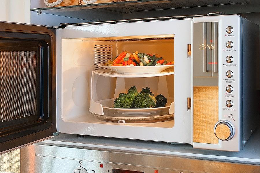 cocinar al vapor en el microondas