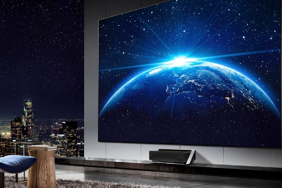 laser tv hisense