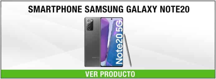 smartphone Samsung Galaxy NOTE20 8BG/256GB Negro